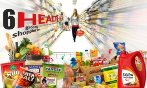 6 healthy grocery shopping tips