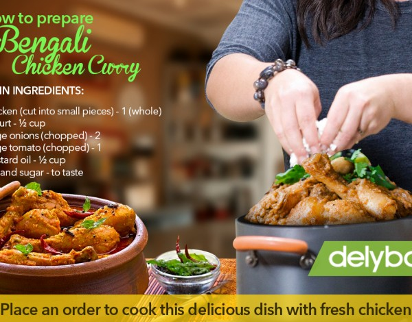Surprise Guests with Sumptuous Bengali Chicken Curry… Here's How!