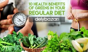 10 health benefits of green vegetables in your regular diet