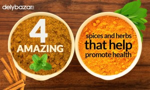 4 amazing spices and herbs that help promote health