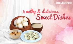 4 milky & delicious sweet dishes