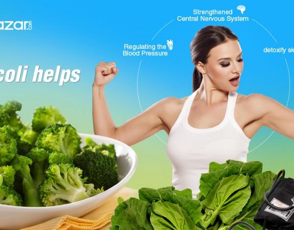 Why eat broccoli? Get online fresh broccoli at Delybazar.