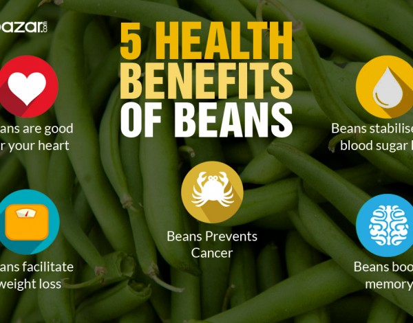 5 Health Benefits of Beans