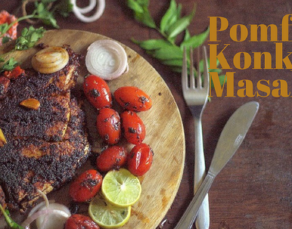 Pomfret Konkani Masala Recipe