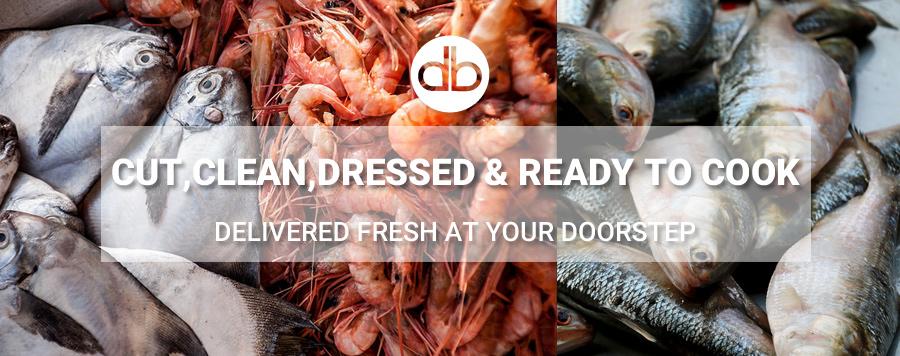 Fresh,Cut,Dressed Fish