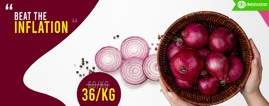 Onion @36/Kg